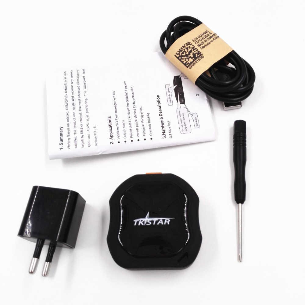 Мини Портативный TK STAR TL109 LK109 GPS/GSM/GPRS трекер с длительным временем работы в режиме ожидания, водонепроницаемый GPS-трекер для детей