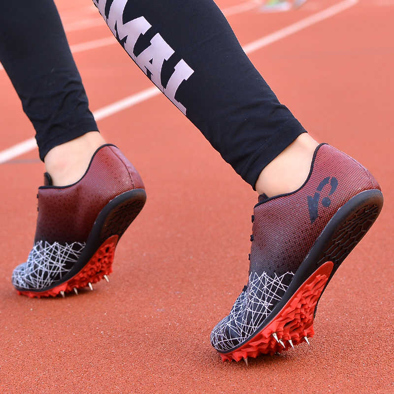 長距離陸上男性女性トレーニングスポーツシューズ専門のトラックレースソフト靴スニーカー 36- 45