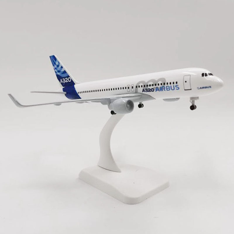 Model Aircraft 20CM 1: 1: 300 Scale Airbus A320 Portotype Airlines Airplanes Plane Aircraft Alloy Die-casting Model