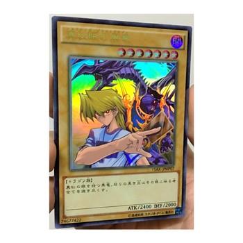 Yu Gi Oh DIY zabawki Hobby Hobby kolekcje kolekcja gier karty Anime tanie i dobre opinie TOLOLO Q755 Dorośli Chiny certyfikat (3C) Fantasy i sci-fi
