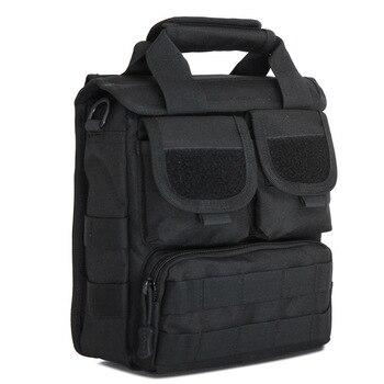 Bolso de hombro de un solo hombro, Bolso de bolsillo fuerte, Bolso impermeable para hombre, Bandolera para Ipad, bolsos, teléfono móvil de camuflaje