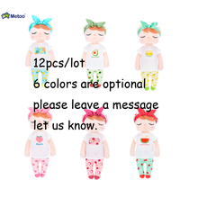 Wholesale 12PCS Metoo Newest Sweet Rabbit Cute Animals For Kids Toys Angela Doll For Girls Birthday
