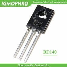 50pcs BD140 D140 TO-126 PNP 1.5A 80V  NPN Epitaxial  Triode Transistor new original