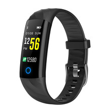 Original Smart Bracelet 0.95 Touchscreen Heart Rate Monitor Wristband Fitness Sleep Tracker Band For iOS Android