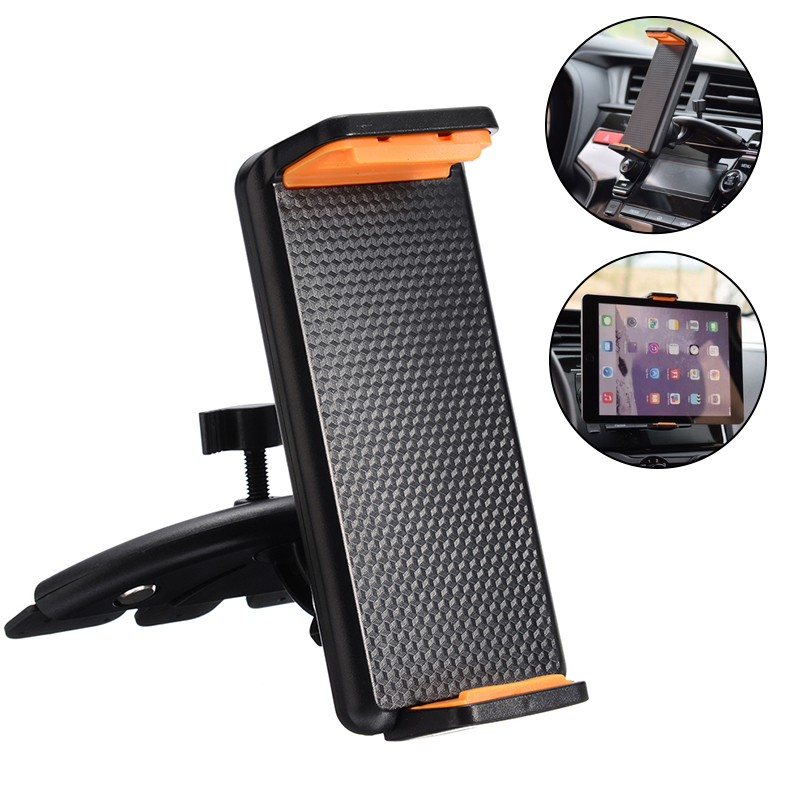 Universal Portable Car CD Slot Mount Holder Stand For Smart Phone Tablet 11.5-19cm/4.53-7.48inch For Mobile Phone/tablet/GPS/PDA