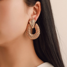 new  creative hollowed water drop earrings eardrop earings fashion jewelry trendy women korean