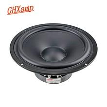 GHXAMP 8 Inch 218MM Speaker Unit Midrange Bass 8ohm 140W Home Theater Speaker Matte Coated Paper Tray HIFI DIY 45Hz 1pc