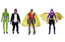 "DC Universe Batman 1966 Tv Series Riddler Robin Penguin 6"" Action Figure TOY DOLL XMAS GIFT"