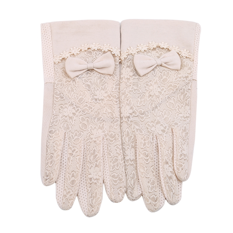 Women's Summer UV-Proof Driving Gloves Lace Gloves Brand New And High Quality Lace About Female Gloves Mittens Guantes De Encaje