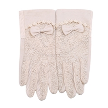 Women's Summer UV-Proof Driving Gloves Lace Gloves brand new