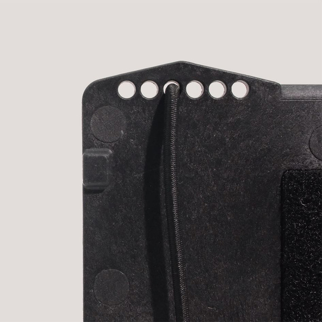 Tactical Equipment Universal Phone Panel Information Board - Black