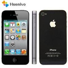 Apple teléfono inteligente iPhone 4S desbloqueado, 16GB, 32GB, 64GB de ROM, Dual core, WCDMA, 3G, WIFI, GPS, cámara de 8MP, usado, reacondicionado