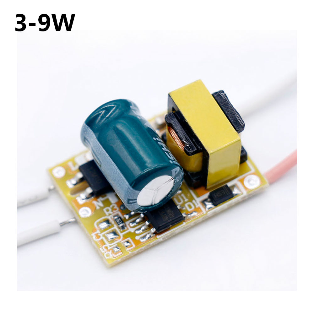 LED Driver 3-9W Power Supply Constant Current 70mA-140mA Automatic Voltage Control Lighting Transformers For LED Lights DIY