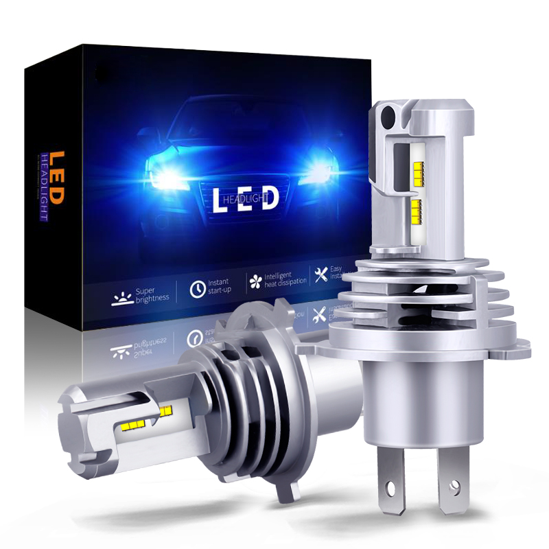 GZKAFOLEE 1:1 Mini Design <font><b>H4</b></font> <font><b>LED</b></font> H7 H8 H9 H11 H16 9005 HB3 9006 HB4 Car headlight <font><b>bulb</b></font> High beam low beam auto fog <font><b>light</b></font> 12000LM image