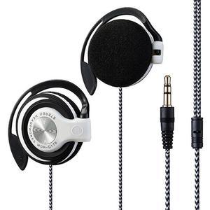 Универсальный 3,5 мм Проводные Наушники Hi-Fi стерео наушники из глянцевого металла, тяжелый бас гарнитура наушники-вкладыши регулируемый ушной крючок наушники для телефона