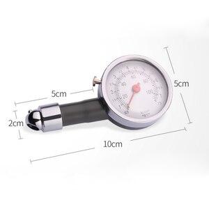 Image 2 - DSYCAR Metal Car tire pressure gauge AUTO air pressure meter tester diagnostic tool For Jeep Bmw Fiat VW Ford Audi Honda Toyota