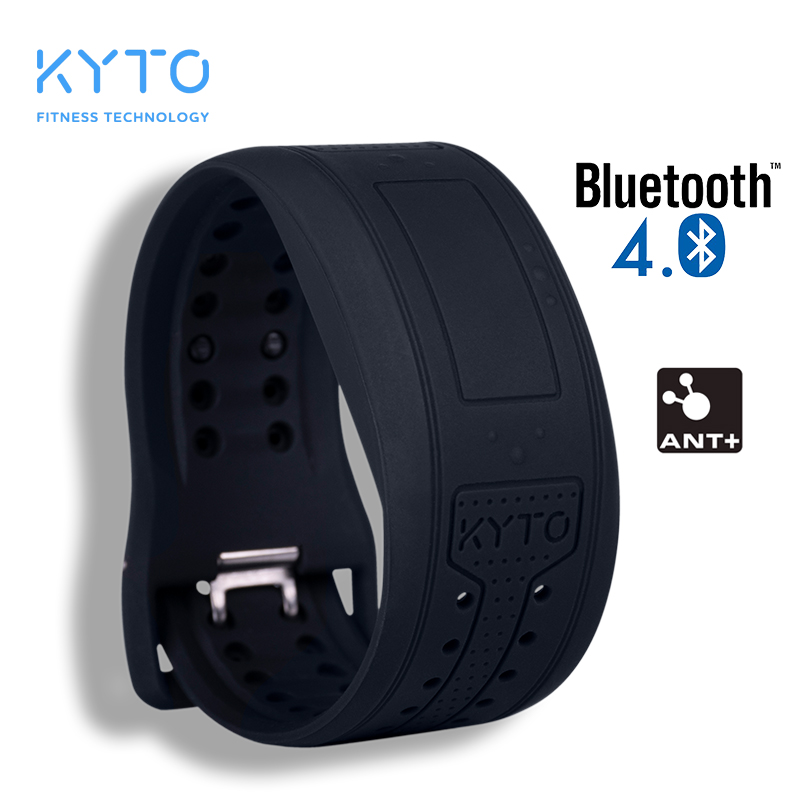 KYTO Heart Rate Monitor Wristband Bluetooth Watch ANT+ HRV Bracelet For Cycling Fitness