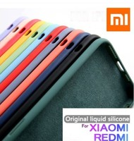 Funda de silicona líquida Original para Xiaomi Redmi Note 9 s, 8, 6, 7, 9 pro, 6A, 7A, 8A, 10, a prueba de golpes, suave, Note 9 s, 8 T, 9A