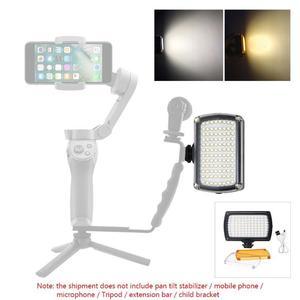 Image 3 - 96LED profesyonel LED Video işığı dolgu işığı 3200 K 5600 K kısılabilir flaş lambası DJI Osmo cep 3 2