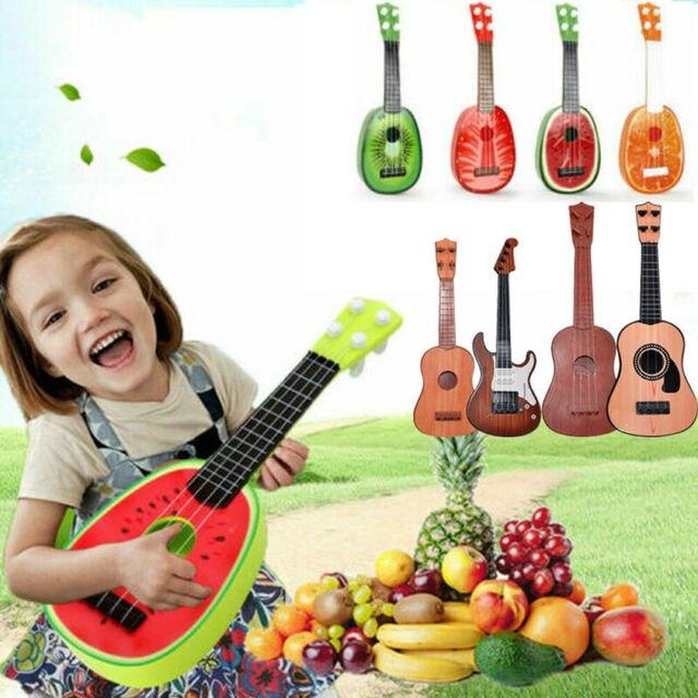 Children Kids Musical Toys Fruit Ukulele Ukelele Small Guitar Musical Instrument Educational Toy Hot