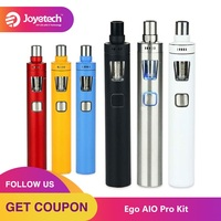 Original Joyetech Ego AIO Pro Kit 2300mAh Battery Capacity with 4ml Tank All in One Ego AIO Pro Starter Kit Electronic Cigarette