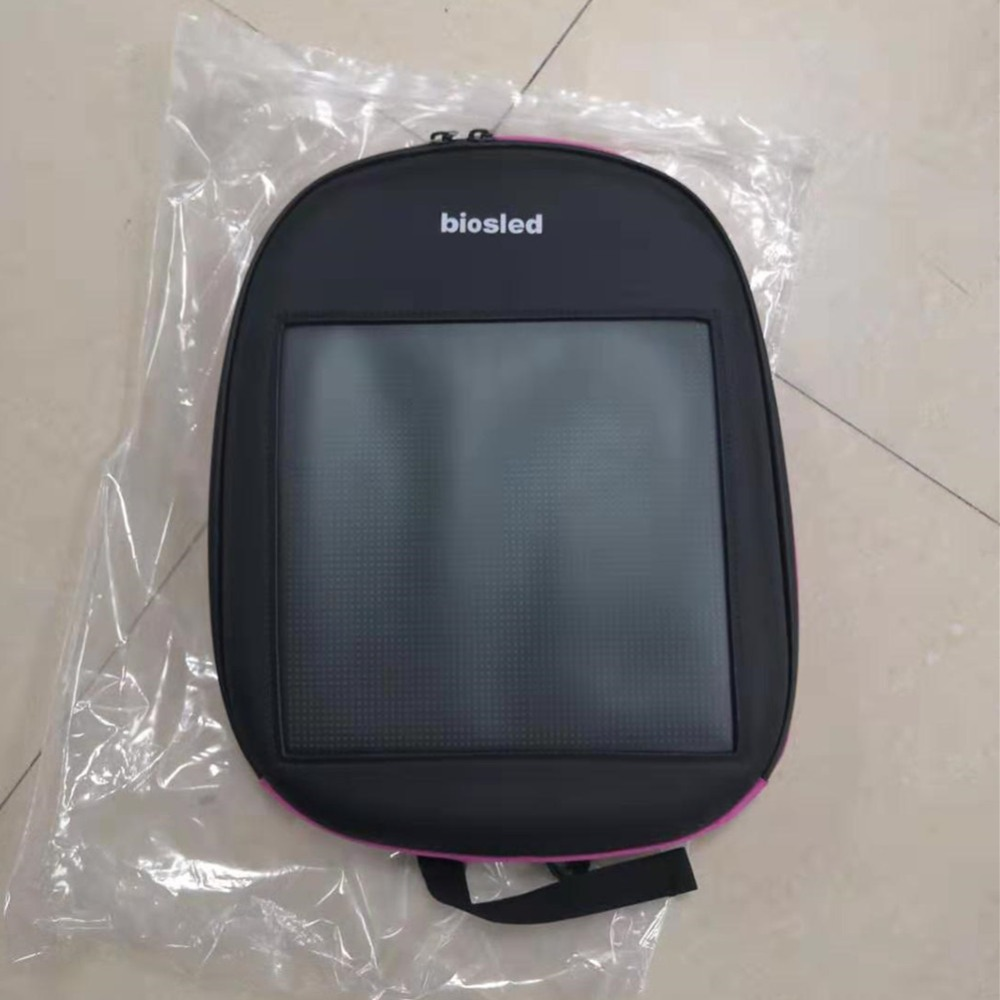 Dynamic Advertising Backpack DIY Wireless LumiParty LED Screen