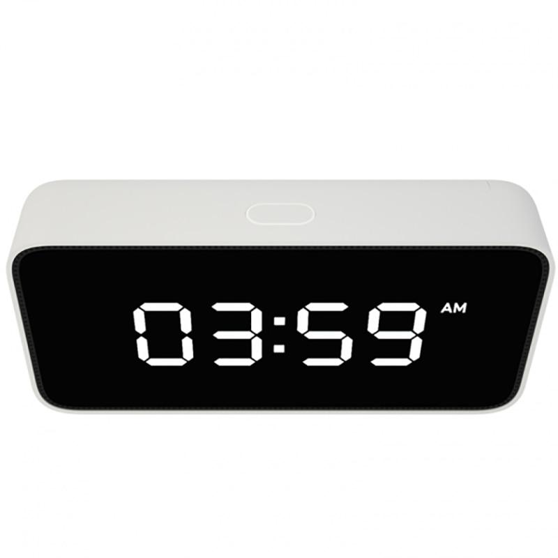 2018 neue Smart Stimme Broadcast Wecker ABS Tisch Dersktop Uhren Zeit Kalibrierung arbeit app - 3