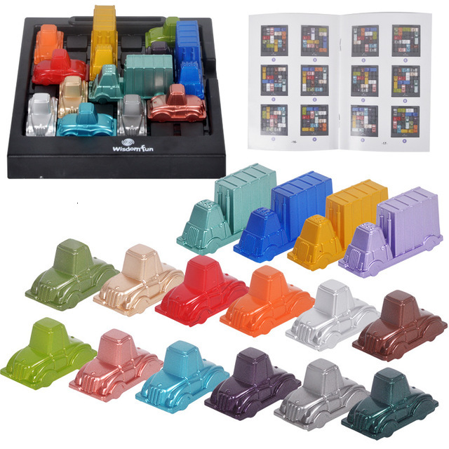 Traffic jam time rush hour children think logic clear game puzzle intelligence toy party game baby toy baby gift
