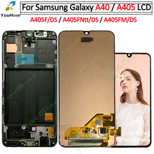 For Samsung Galaxy a40 A405 LCD Display Touch Screen Digitizer A405F A405FN Assembly Replacement For Samsung a40 lcd display