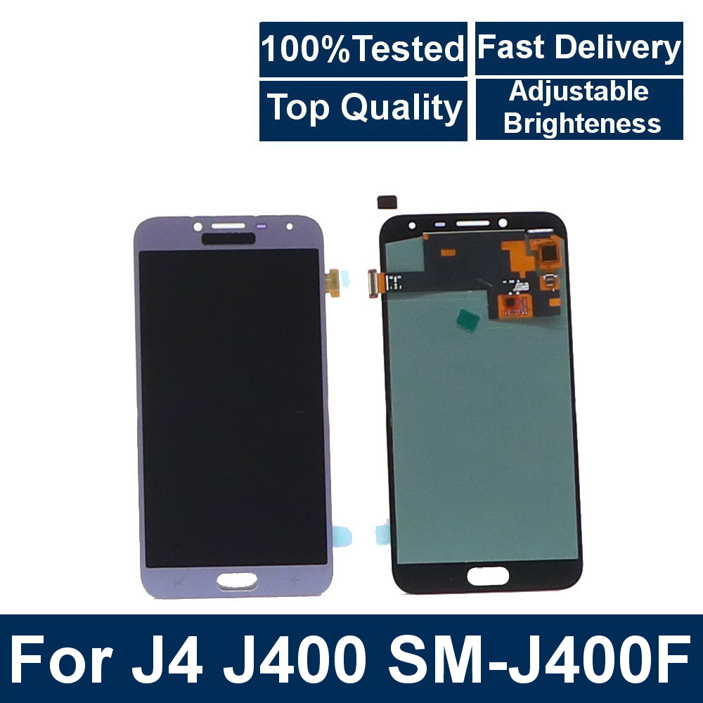For Samsung <font><b>Galaxy</b></font> <font><b>J4</b></font> <font><b>2018</b></font> J400 J400F J400DF Phone LCD <font><b>Display</b></font> Touch Screen Digitizer Assembly with Brightness Control image