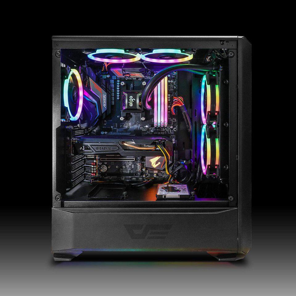 Aigo DR12 Pro Computer Case PC Fan Adjust ARGB Cooling Fan 120mm Quiet Control AURA SYNC Computer Cooler Cooling RGB Case Fans 6