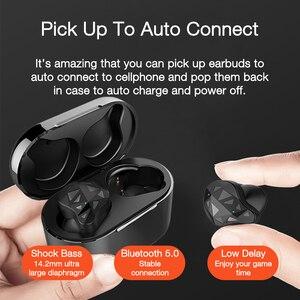Image 4 - EARDECO True Wireless Earbuds TWS Sport Earbud Bluetooth Earphone Earbud In Ear Wireless Headphones Handsfree Touch Earphones