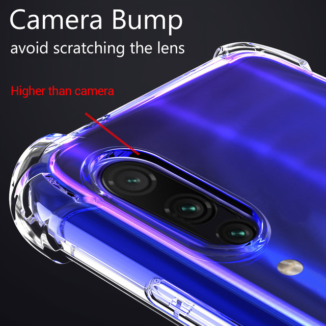 Clear Shockproof Case For Samsung Galaxy S21 S20 fe Plus Note 20 Ultra A21S A12 A31 A52 A72 A51 A71 A70 A50 S8 S9 S10 Plus Cover 2