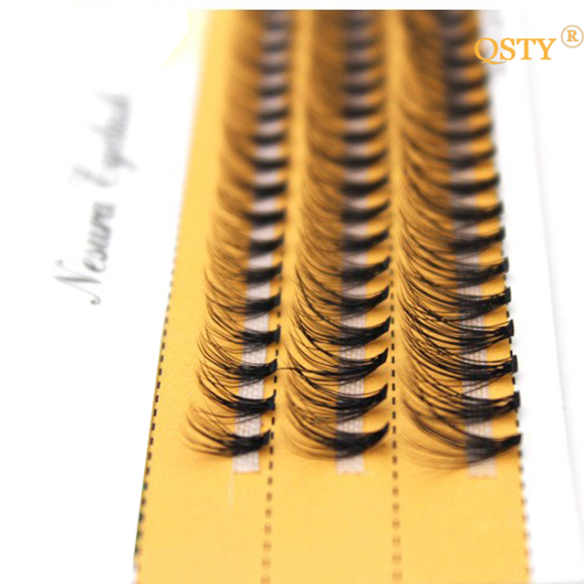 1 Set 0.07 C 20D Beauty Women Girls False Eyelashes Wave Individual Eyelash Extension Mink Black Soft False Eye Lashes 8/10/12mm 1