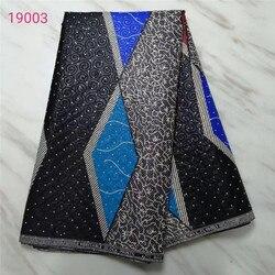 Gwarantowane materiał afryki prawdziwe wosk nigerii Ankara projekty prawdziwymi Pagne wosk afryki Ankara wosk drukuje tkanina wyszywana kamieniami