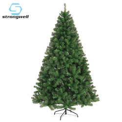 Strongwell 120/150/180CM cifrado árbol verde Mini Artificial árbol de Navidad decoraciones familia Navidad decoración hogar