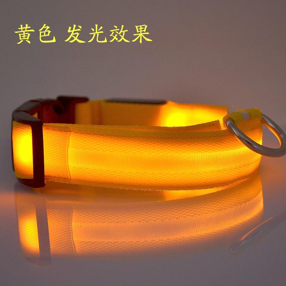 Dog Neck Ring Pet Luminous Collar LED Neck Ring Dog Supplies