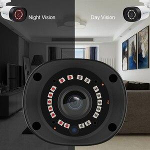 Image 4 - Techage H.265 4MP 5MP Sicherheit Audio POE IP Kamera Im Freien Wasserdichte IP66 48V POE ONVIF Mikrofon CCTV Video Überwachung