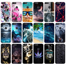 """TPU Cases For Alcatel 1S 2019 5024D 5.5"""" Case Cover Soft Slicone Back Coer Phone Case For Fundas Alcatel 1S 2019 Coque Capa Bags"""