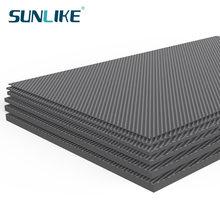 245MM X 300MM Matte Surface 3K Carbon Fiber Sheet Plate Panel 0.5mm 1mm 1.5mm 2mm 3mm 4mm 5mm High Composite Hardness RC Model