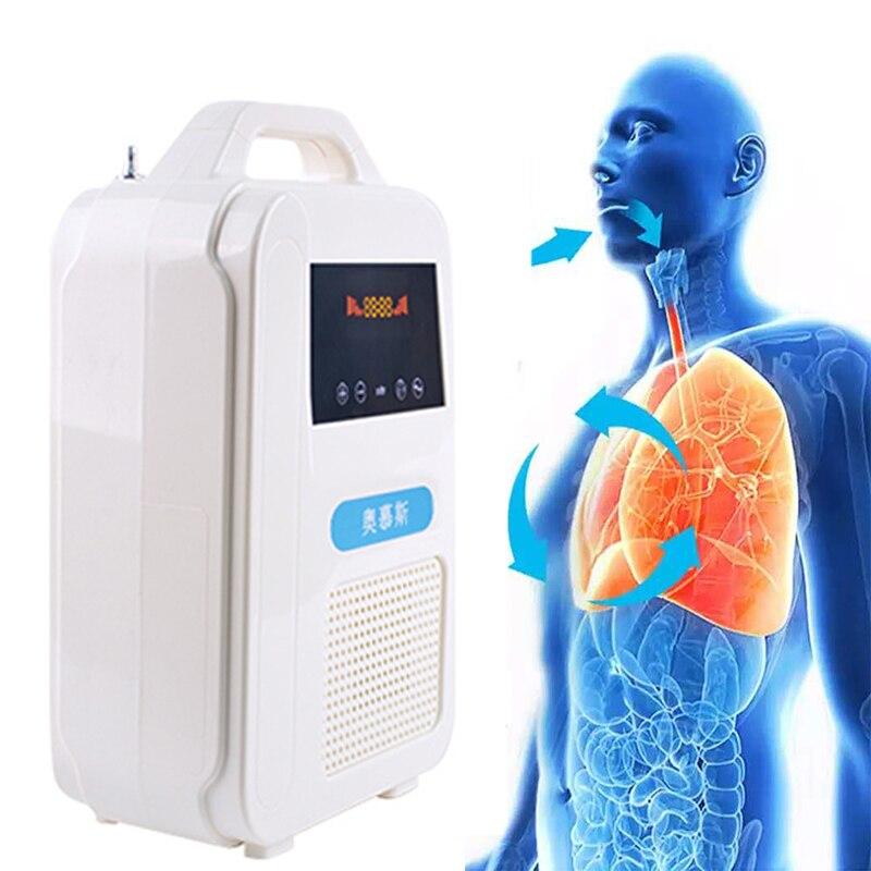 Sauerstoff Konzentrator Generator Sauerstoff Sauerstoff, Der Maschine Ventilator 7L Einstellbare Medic Sauerstoff Erzeugenden Maschine Tragbare