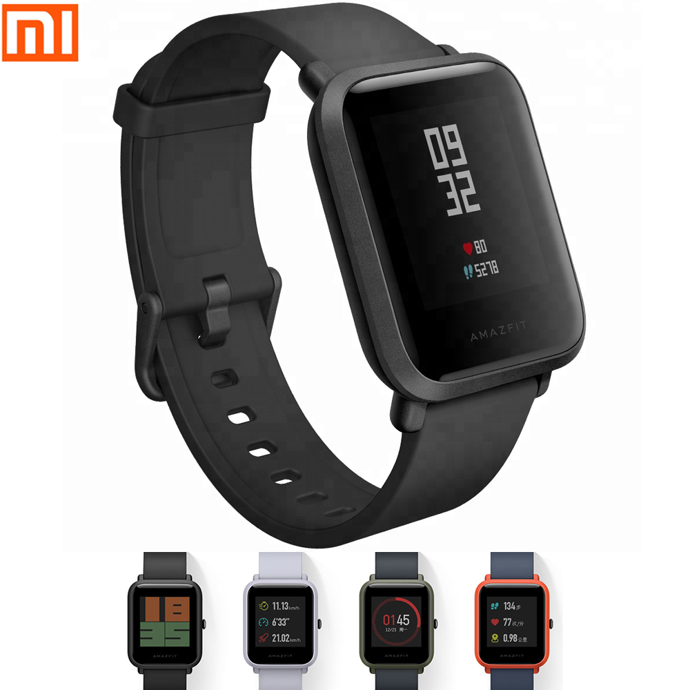 Amazfit bip Smart Watch GPS Smartwatch Android iOS Heart Rate Monitor Global Version English/ Spanish/ Russian  A1608