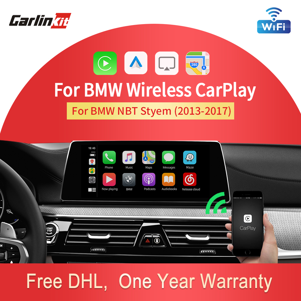 Carlinkit Decoder 2.0 CarPlay/Android For BMW NBT Series 3 F30 F31 F34 Series 4 F32 F33 F36 Multimedia Android Wired Wireless(China)