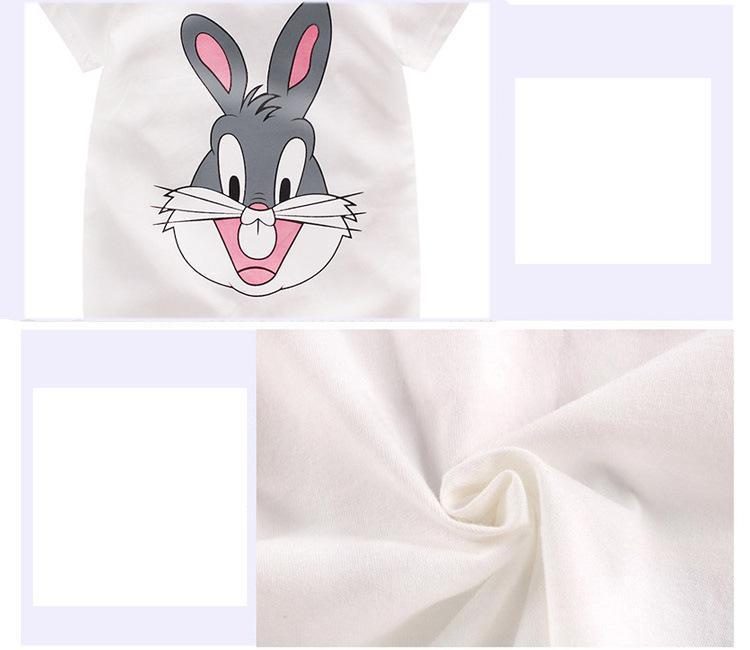 2021 недорогой хлопковый Детский комбинезон с короткими рукавами, одежда для малышей, цельная летняя одежда унисекс для малышей, комбинезоны для девочек и мальчиков с рисунком жирафа 3