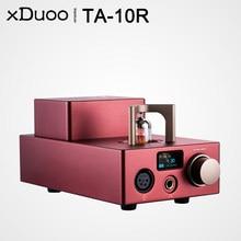 XDUOO-AMPLIFICADOR DE AURICULARES TA-10R TA10R AK4493EQ XU208, tubo de amplificador de auriculares AMP USB DAC 2000mW, salida 384Khz DSD256 RAC, entrada Coaxial óptica