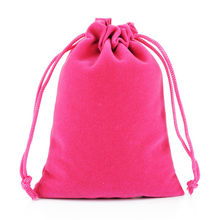 50pcs 15x20cm Multicolor Velvet Drawstring Pouches Packing Gift Bags & Pouches Jewelry Packaging Display Bags Can Custom Logo(China)