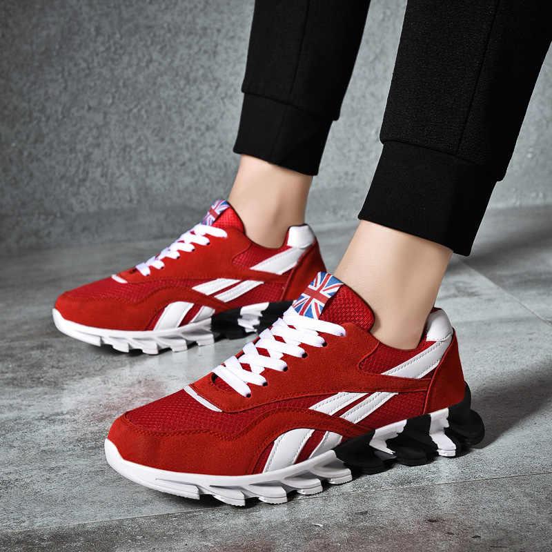 Moipheng 2020 รองเท้าผ้าใบสตรีขนาด 10 แฟชั่นLoverตะกร้าFemmeรองเท้าผ้าใบผู้ชายฤดูใบไม้ร่วงฤดูใบไม้ผลิสีดำลำลองWalikingรองเท้า