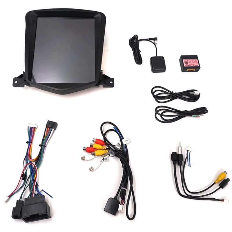 10.4 Inch Android 8.1 Octa Core Car GPS For Chevrolet Cruze 2006-2014 NO DVD With Stereo Auto Radio Audio Head Unit DAB