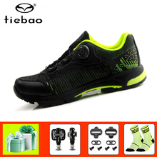 TIEBAO  Professional men women cycling shoes sapatilha ciclismo mtb bicycle pedals breathable Leisure riding MTB bike sneakers