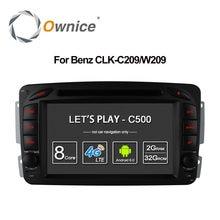 4G SIM LTE Android 6.0 Octa 8 Core Car DVD Player GPS For Mercedes W209 W203 W168 M ML W163 W463 Viano W639 Vito Vaneo 32G ROM